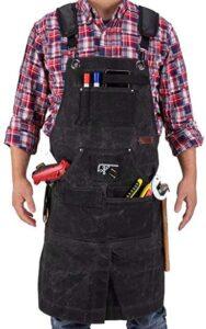 woodshop apron
